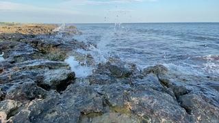 Raging surf relax sounds. Звуки моря и шум прибоя для релаксации и сна.Белый шум природы ambience