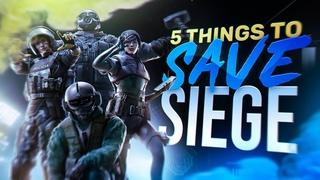 How Ubisoft Could Save Rainbow Six Siege