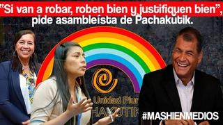 Empezó la entrevista al expresidente Rafael Correa