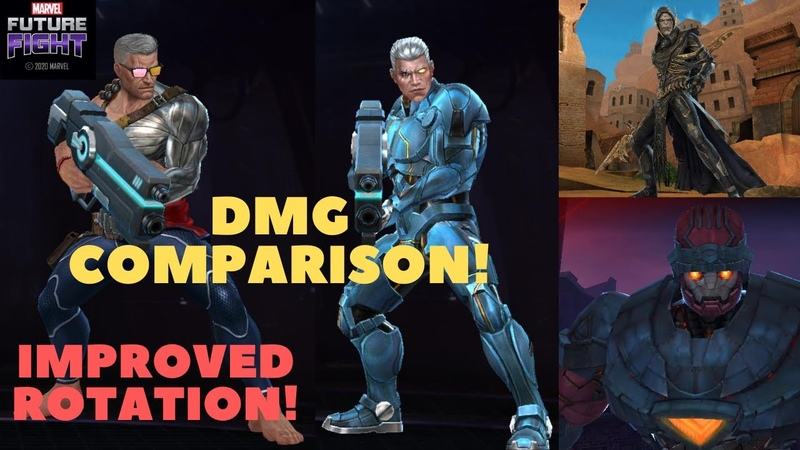 T2 CABLE Summer Days VS Cable Deadpool Comparison WBU Corvus Stage 70 Master Mold GBR MFF