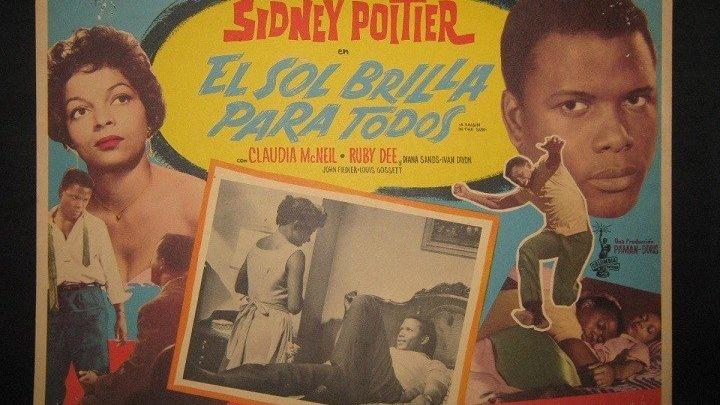 EL SOL BRILLA PARA TODOS (1961) de Daniel Petrie con Sidney Poitier, Claudia McNeil, Ruby Dee, Diana Sands by Refasi