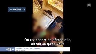 """Restaurants clandestins - Pierre-Jean Chalençon ce midi sur M6 : """"On est encore en démocratie, on fait ce qu'on veut ! Ca fait 15 mois qu'ils nous emmerdent, ils sont malades !"""" - Vidéo Dailymotion"""