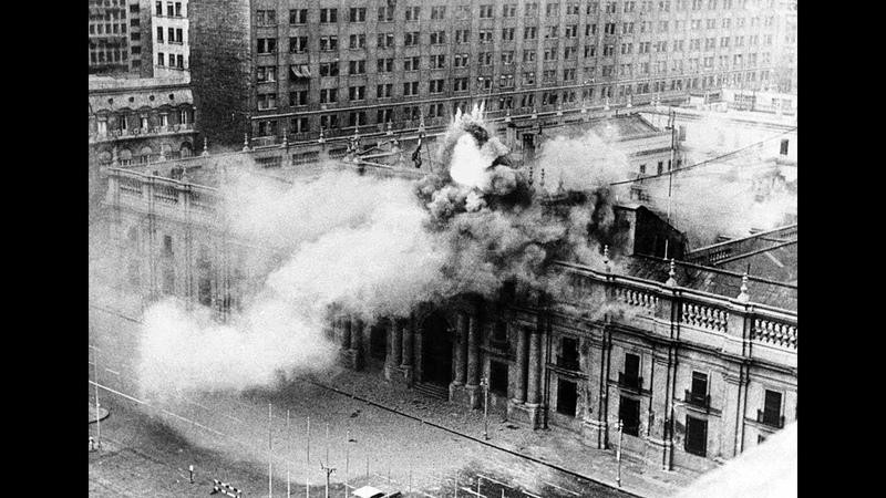 1973 GOLPE de ESTADO en CHILE el impactante Bombardeo a la moneda