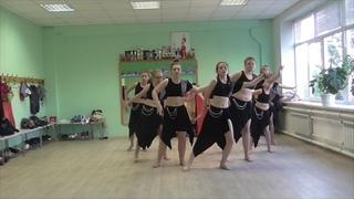 Восточные танцы - учебная связка