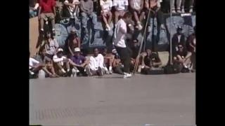 Rodney Mullen winning run 1990 Freestyle contest.