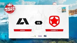 Apeks vs Gambit Y - Malta Vibes - map1 - de_vertigo [PCH3LK1N & MintGod]