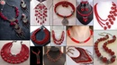 Hot Red Jewelry! DIY Necklace Ideas Suitable On Wedding Outfits