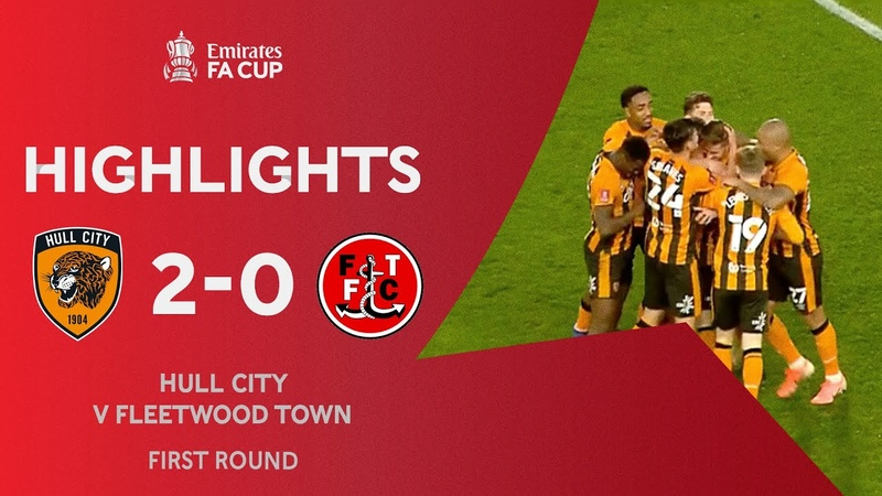 Hull City 2-0 Fleetwood Town