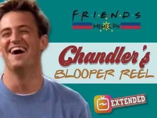 FRIENDS IGTV: Chandler's Blooper Reel