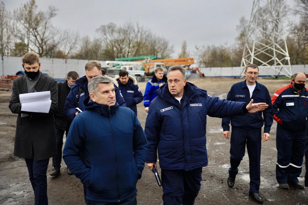 Генеральный директор «Росcети Центр» посетил Тверскую область