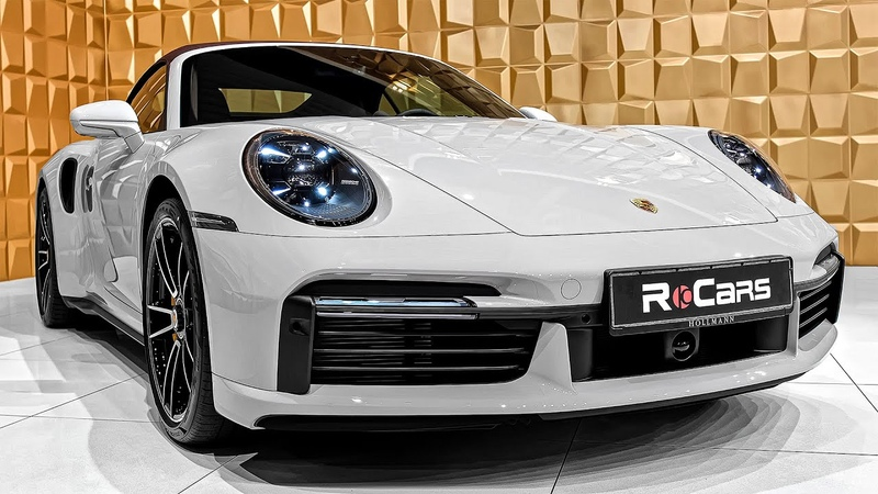 2021 Porsche 911 Turbo S Interior Exterior and Exhaust Sound