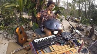 """ Rezo a la Tierra "" - Janax Pacha - Tribal Live Looping - rc 505"