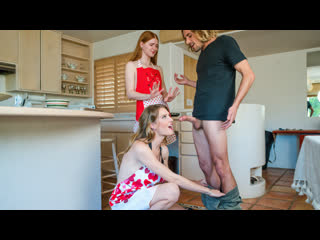 BrattySis Ashley Lane, Jane Rogers - Step Sisters Valentines Cookie NewPorn2021