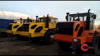 Выезд, испытание, отгрузка трактора Кировец к 700.
