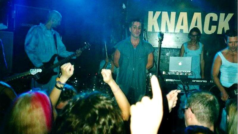 Rammstein Klitschko Sonne @ 16 04 2000 Berlin Knaack Club Germany HQ