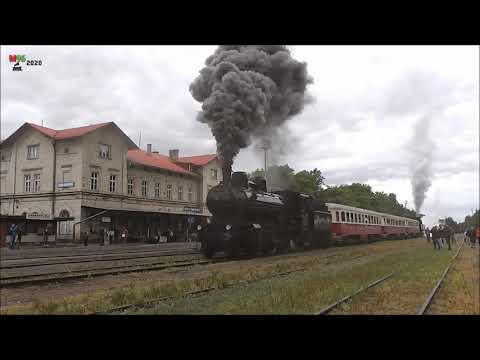 Setkání parních lokomotiv Lužná u Rakovníka jízdy historických vlaků 21 6 2014