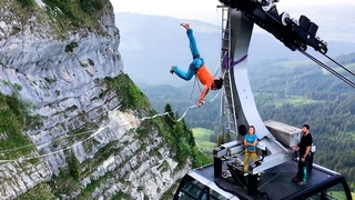 Extreme Slackline Stunts | Ultimate Slacklining Compilation