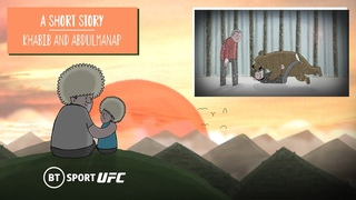 Khabib and his father, Abdulmanap: An animated short story | UFC 254