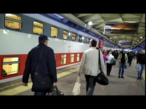 Поездка на скором поезде №29 Санкт Петербург Московский вокзал Москва Ленинградский вокзал