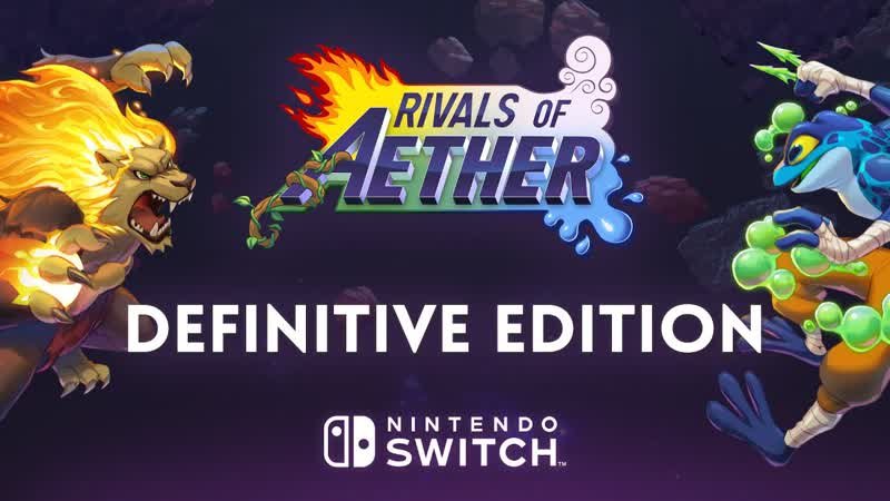 Rivals of Aether Definitive Edition - Трейлер даты релиза