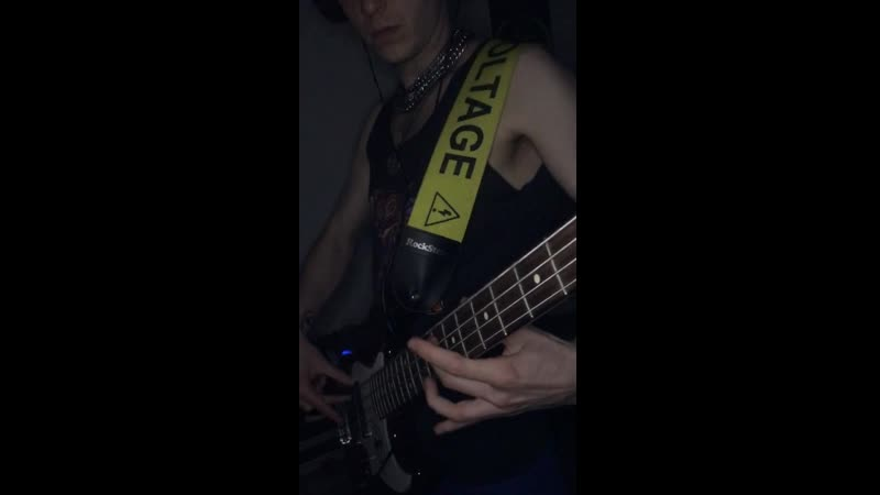 CHESS Hysteria Muse bass part cover