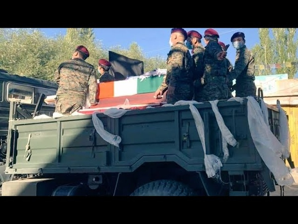 RIP to our Tibetan brother Officer Coy Ldr Nyima Tenzin of Vikas battalion SFF