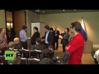 Пресс-конференция Сергея Лаврова по итогам четырехсторонней встречи по Украине в Женеве