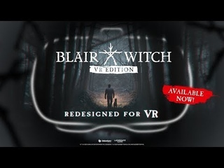 """💥 """"Blair Witch: VR Gaming""""   Oculus Rift   Launch"""