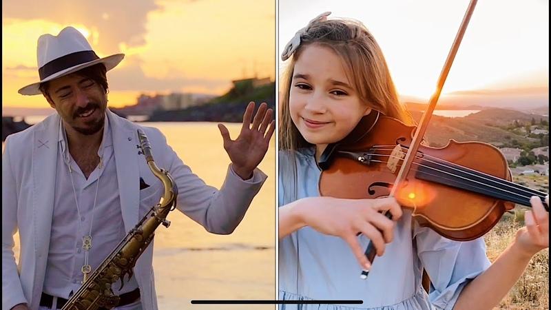 Hallelujah Violin and Sax Cover Karolina Protsenko Daniele Vitale