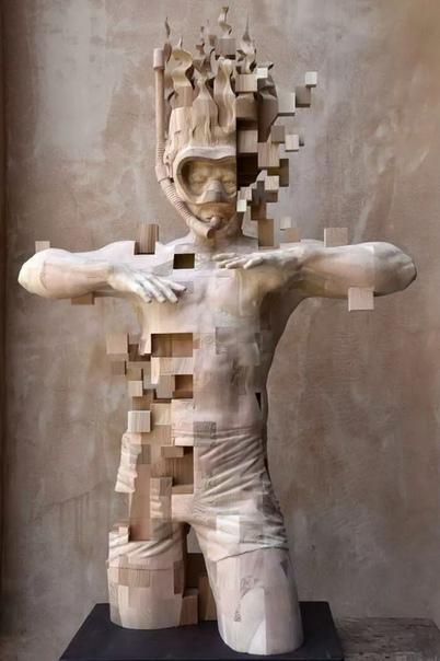 Hsu Tung Han  скульптор из Тайваня, автор более сотни уникальных деревянных скульптур