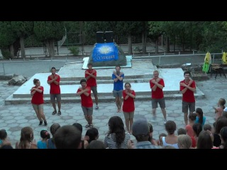 Крым 2012-танец вожатых