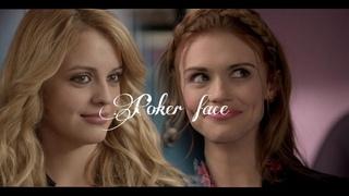 """POKER FACE """"teen wolf girls"""""""