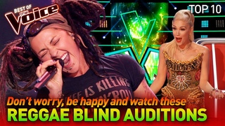 The best REGGAE Blind Auditions in The Voice #2 | Top 10