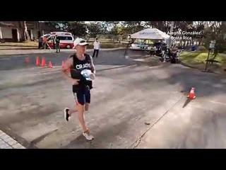 Gana Alegna González En Costa Rica 20Km Modalidad De Ruta 🥇🥇