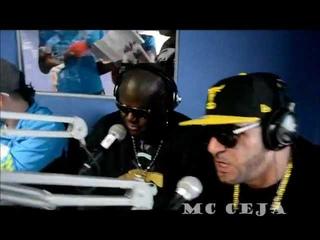 MC CEJA, O.G. BLACK, GUANABANA, JENNY «LA SEXY VOZ», DJ DICKY en el Sonido del Combo de los 15 ·
