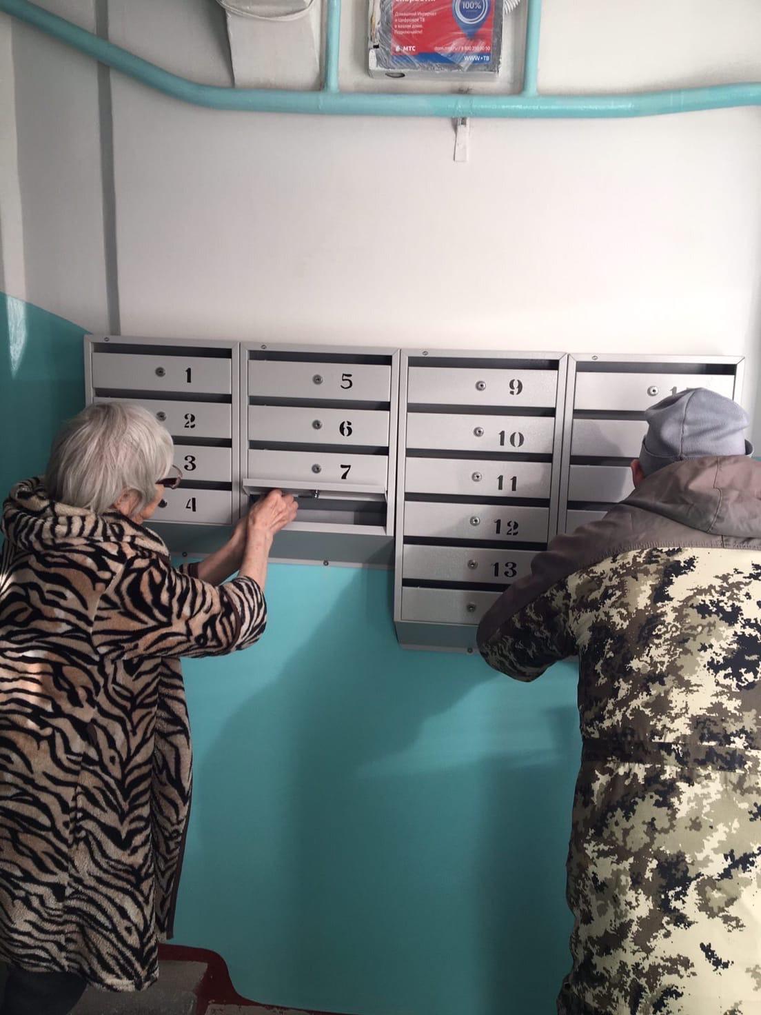 Установка почтовых ящиков Улица Монтажников дом 30