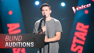 The Blind Auditions: Jesse Teinaki sings 'When The Party's Over' | The Voice Australia 2020