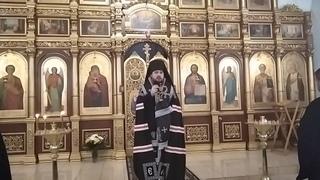 Проповедь владыки Антония в четверг первой седмицы Великого поста