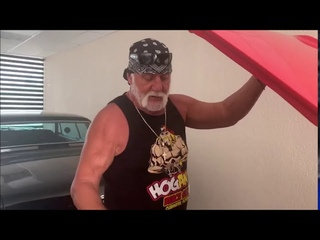 Hulk Hogan Shows off his Muscle Cars in his Garage,Shoots on Stone Cold Steve Austin's Cars