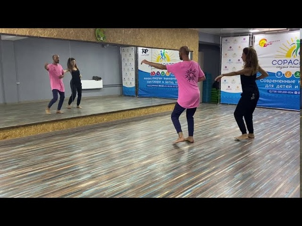 Salsa footwork and partner work Son cubano afro cubano salsa on2 Natalia Andrey Korzun