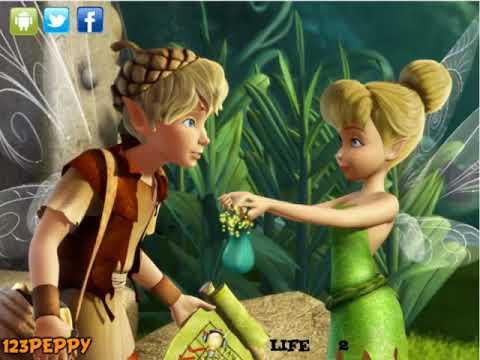DISNEY FAIRIES 26 TinkerBell Escape Динь Динь Побег flash game