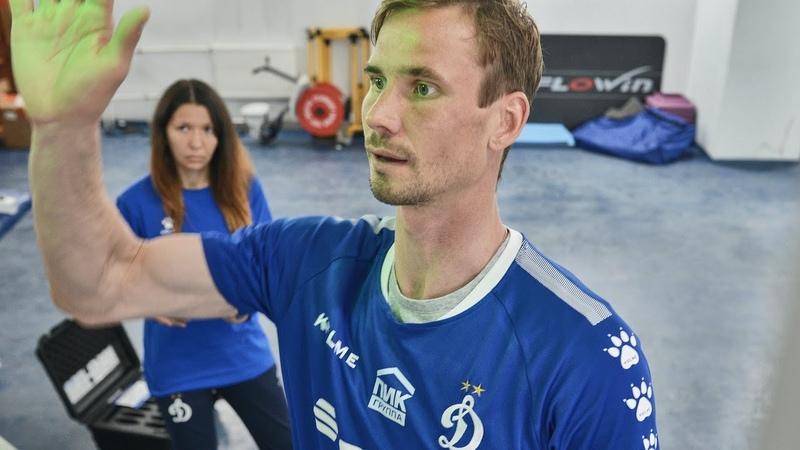 FitLight тренировка вратарей Шунин Лещук