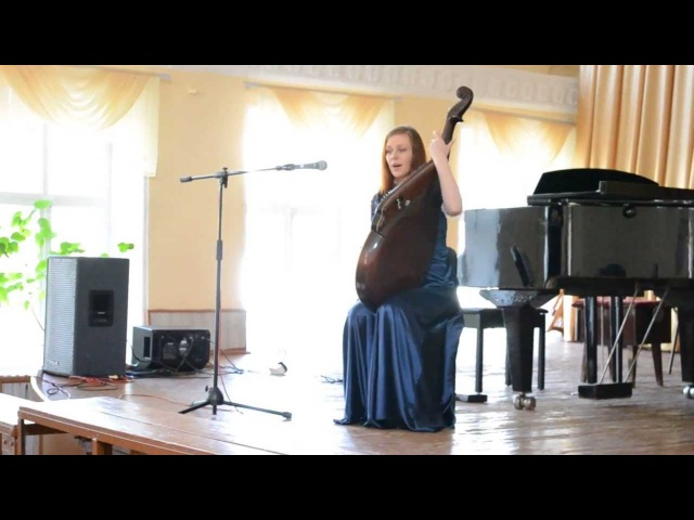Moon River (by J.Mercer, H.Mancini) Performed Rina Physalis (bandura, vocal)