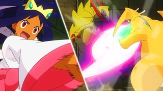 Ash vs Iris Full Battle | Pokemon Journeys Episode 65 | Sword and Shield Episode 65 【AMV】
