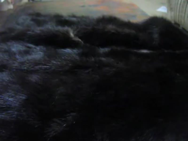Как покрасить мех норки в домашних условиях
