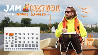 Synthwave 🌲 JAM NATURE with @Elektron Model Samples 🙂