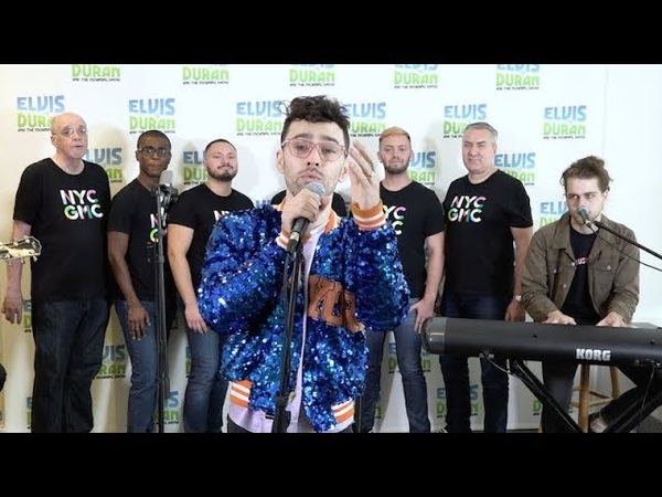 MAX - Still New York ft. New York City Gay Mens Chorus (Live on the Elvis Duran Show)