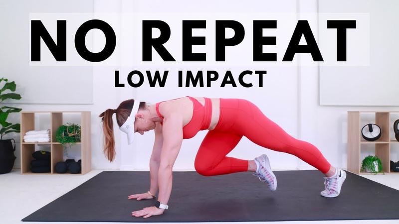 Penny Barnshow 60 MIN LOW IMPACT NO REPEAT No Jumping Workout with Weights Аэробно силовая тренировка с гантелями без прыжков