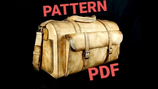 Leather  Bag _PDF pattern available