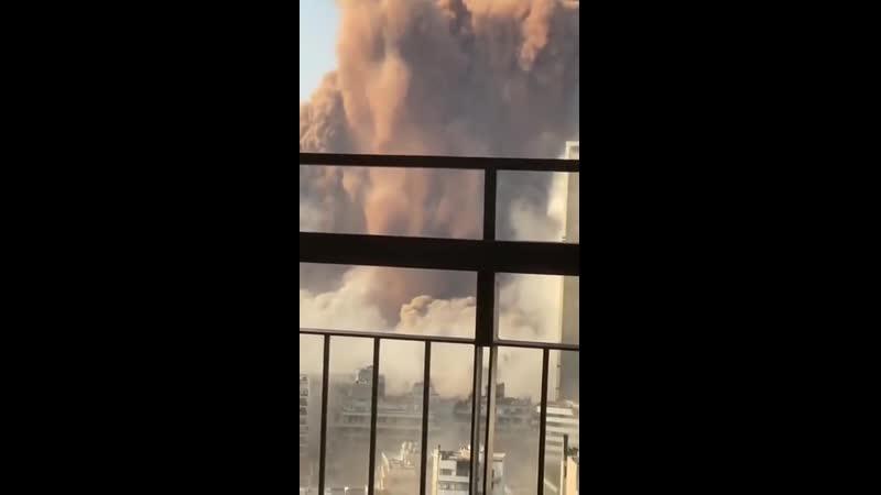 Потужний вибух прогримів у Бейруті столиці Лівану НАШ 04 08 1